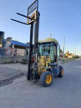 Vendo  autoelevador tractor