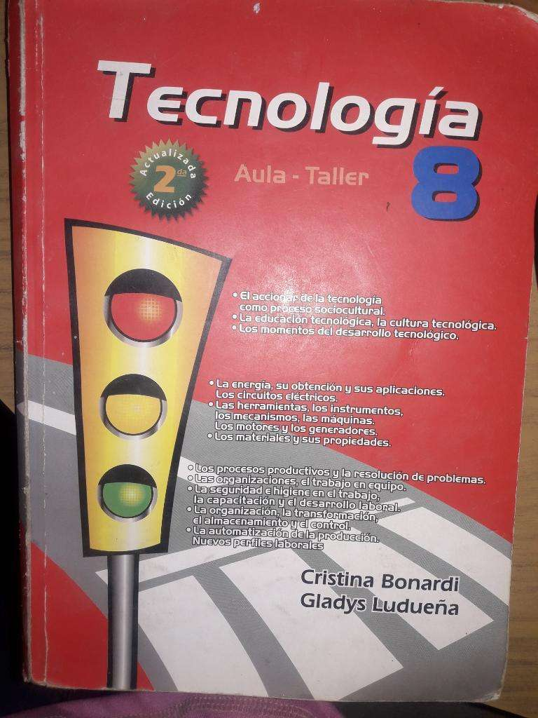 Libro Tecnología 8 0