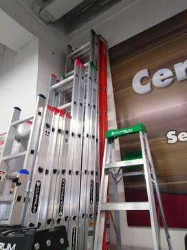 Escalera de aluminio extendíble