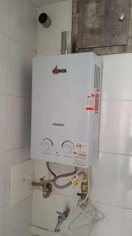 Mantenimiento de calentadores estufas chimeneas y redes a gas