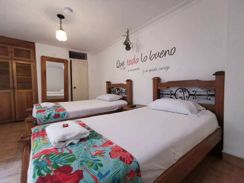 Alquiler de habitaciones con baño privado, a dos cuadras de unicentro, ambiente no familiar. una o dos camas 0