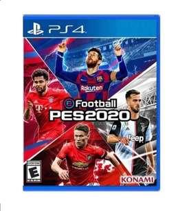 Juego Para PS4  Football PES 2020 Nuevo Fisico En Español