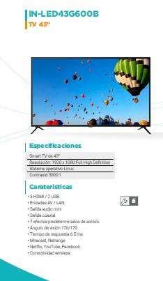 """TV 43"""" INNOVA"""