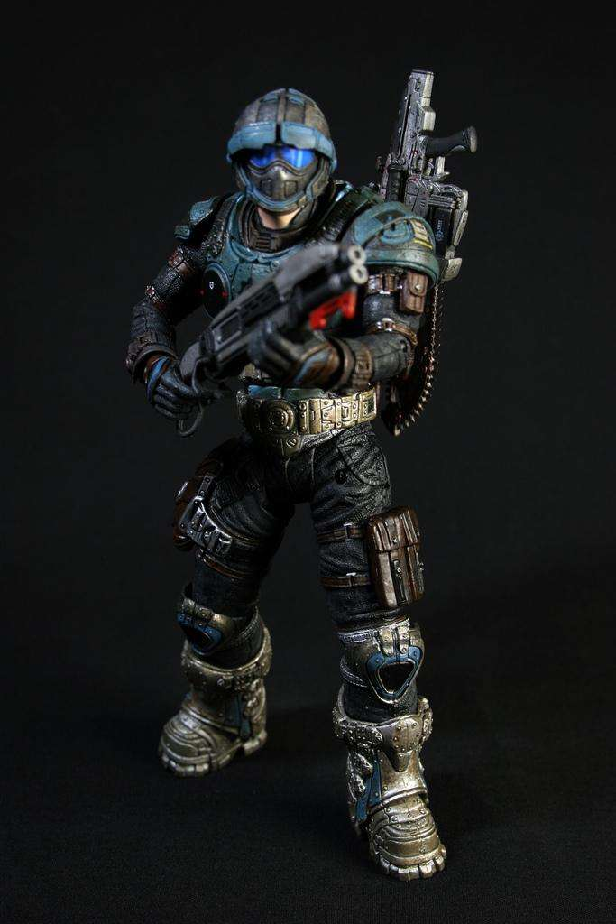 Figura Cog Soldier Gears Of War 2 0