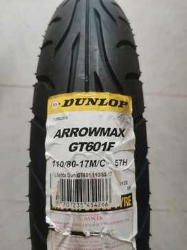 Vendo Llanta nueva Dunlop 110-80/17