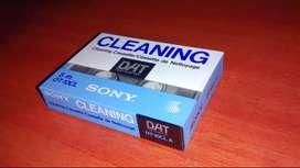 Dat Cassette Limpiador De Cabezas Sony