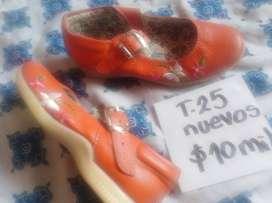 Zapato T.25 nuevos