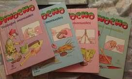 MANUALIDADES PINOCHO Trabajos Manuales para niños y Docentes Colección Completa