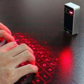 Vendo Teclado Laser Bluetooth 100