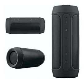 Parlante mini equipo de sonido Altavoz Bluetooth recargable negro charge2