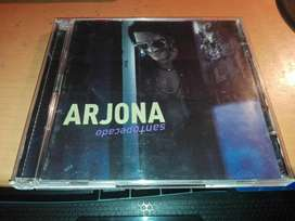 COMBO, 2 DISCOS DE ARJONA ORIGINALES
