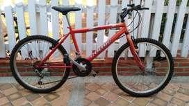 Bicicleta todo terreno marco y rines 24