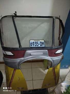 Parabrisas completo de moto taxi