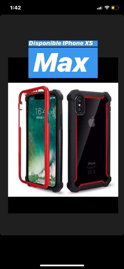 Forro full proteccion iphone xs max 0