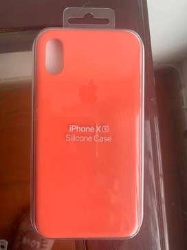 Carcasa Iphone XS silicona original marca iphone
