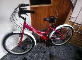 GANGAZO. . . vendo bicicleta playera- poco uso.