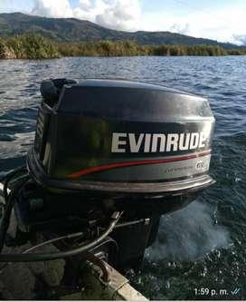 Venta bote en aluminio y motor 25hp más  trayler