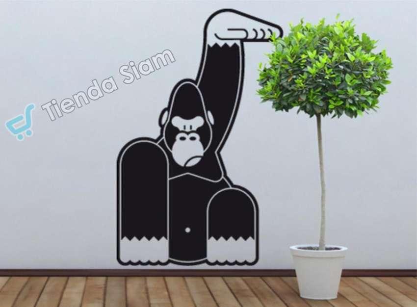 Vinilo Deco Gorila 0