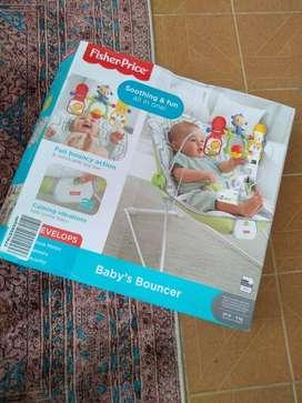 Silla Mecedora Vibradora Baby Bouncer
