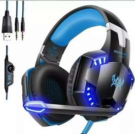 Audifonos gamer ps4, xbox one, ps3 y pc