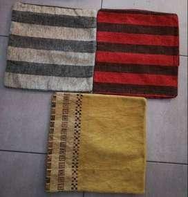 funda para almohadones 40 x 40 cm telas de tapiceria con o sin relleno