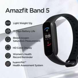 Se vende reloj inteligente Amazfit Band 5. Original y  Nueva.