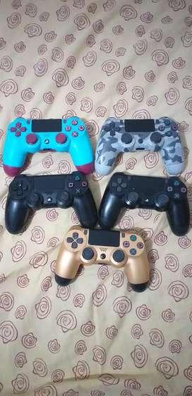 Controles usados de ps4