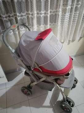 Coche marca baby gris - usado