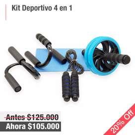 Kit Deportivo 4 en 1