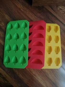 Set de 3 Hieleras de silicona