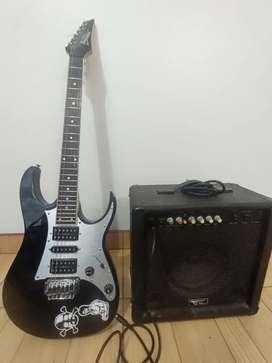 Guitarra electrica ivanez gio