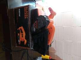 Lijadora de banda black decker 680 w