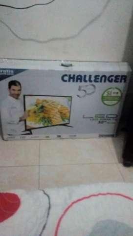 Vendo tv challenger no smartv con tdt 32' como nuevo con control ,factura y en su caja$480000 NEGOCIABLES