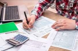 Auxiliar contable.