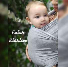 Fular elastico en perfecto estado color gris