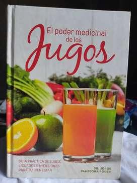 """Libro """"EL poder medicinal de los jugos"""""""