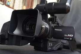 Ganga Filmadora Panasonic AG AC-7 Full HD
