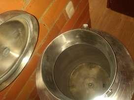 Fermentador de acero inoxidable cónico 60 litros
