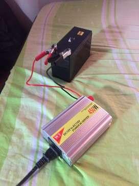 12v-110v inversor de corriente