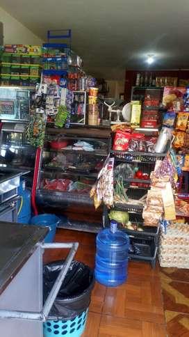 Vendo Tienda de Viveres Y Comida Rapida