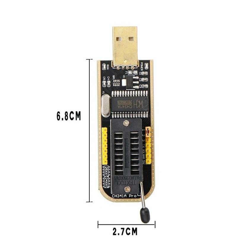 NUEVO kit CH341A 24 25 Series EEPROM Flash BIOS USB Programmer  SOIC8 Clip On-Board 0