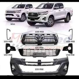 Kit Mascarilla delantera Toyota Hilux 2018 4x4