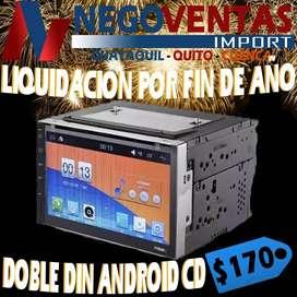 RADIO DOBLE DIM ANDROID CD DVD