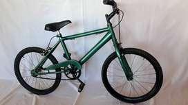 bicicleta de niño rodado 20 en verde
