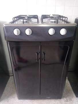 Vendo estufa con alacena marca haceb en perfecto estado con envío y garantía