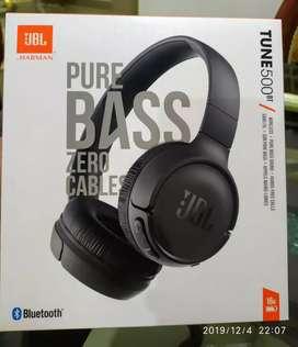 Tune 500Bt pure bass Zero cables