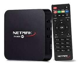 SMART TV BOX NETMAK QUAD/1GB/8GB/7.1 NM-TVBOX1