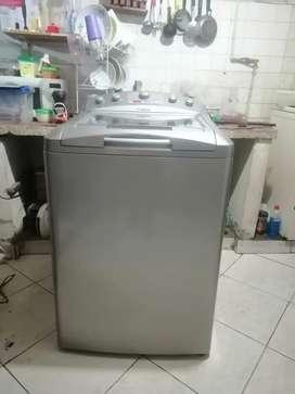 Ganga lavadora mabe de 36L, tanque en acero inoxidable color gris excelente estado con garantía