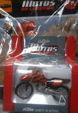 Vendo KTM 450 SX RACING colección el Tiempo