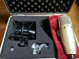 Shure ksm 32 microfono de estudio